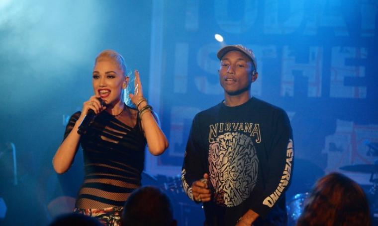 Gwen Stefani dan Pharrell Williams. (Dok: usa-onlinenews)