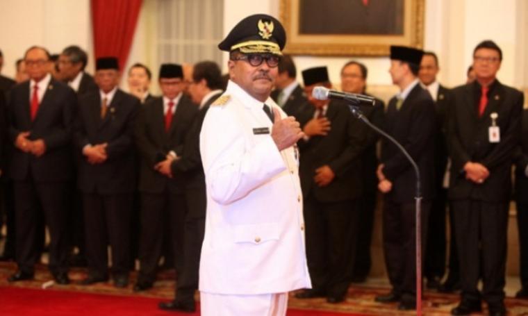 Pemberhentian Rano Karno dan penunjukkan Pj masih menunggu Keputusan Presiden. (Dok: tempo)