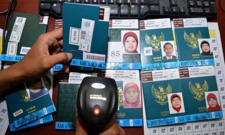 Ilustrasi paspor haji. (Dok: republika)
