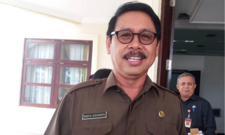 Sekda Banten, Ranta Soeharta. (Dok: verbumnews)