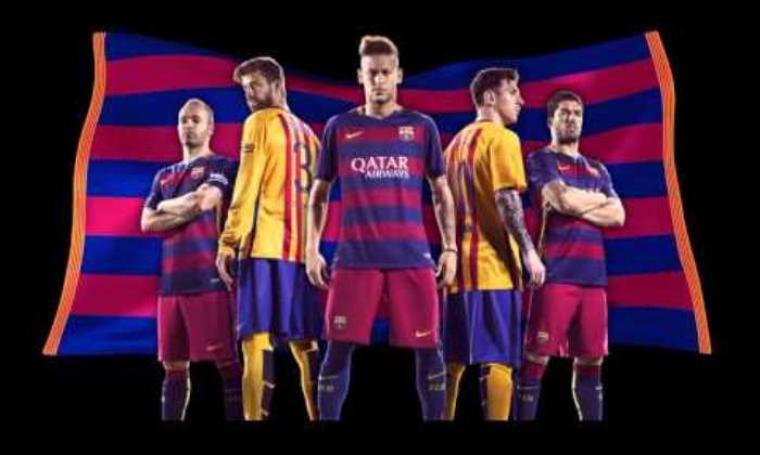 Pemain Barcelona. (Dok: Youtube)