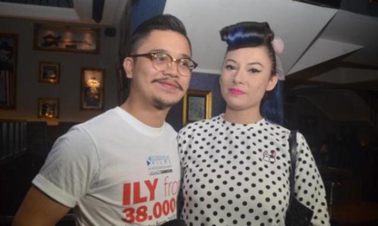 Pasangan selebritis, Derby Romero dan Claudia Adinda. (Dok: tribunnews)