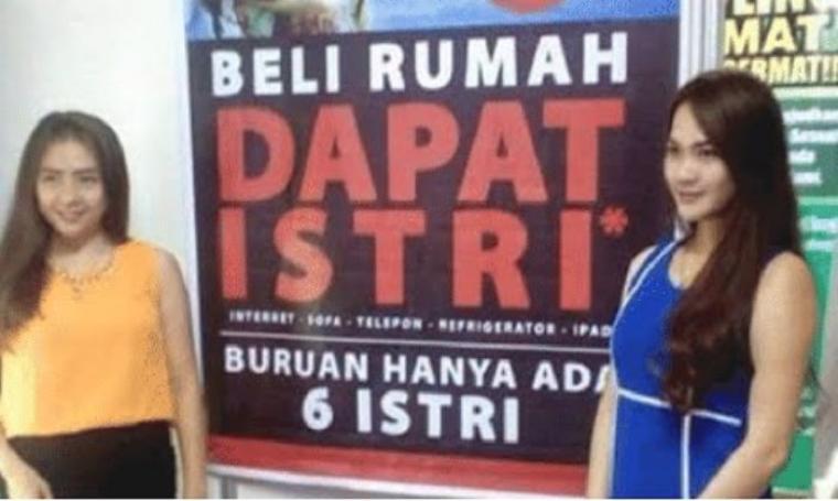 Iklan 'Beli Rumah Dapat Istri'. (Dok: youtube)