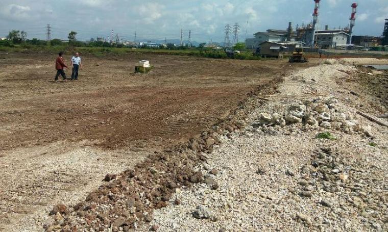 Lahan pembangunan Pelabuhan Warnasari. (Dok: bantennews)