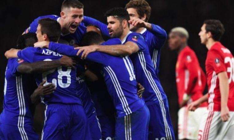 Chelsea vs Manchester United. (Dok: caughtoffside)