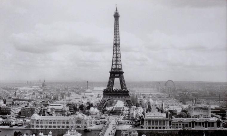 Menara Eiffel. (Dok: louisebaykovic)