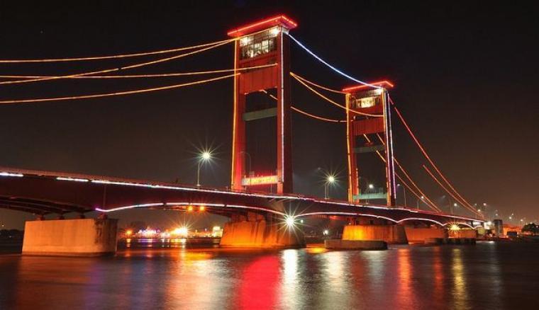 Jembatan Ampera. (Dok: net)