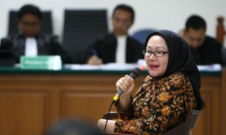 Ratu Atut Chosiyah. (Dok: net)