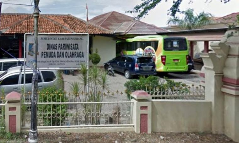 Dinas Pariwisata Pemuda dan Olahraga (Disparpora) Kabupaten Serang. (Net)