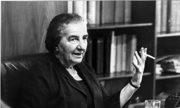 Golda Meir. (Dok: fineartamerica)