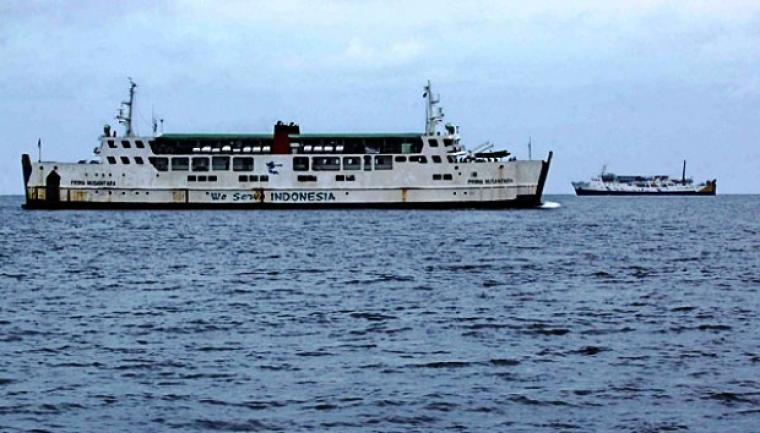 Foto ilustrasi kapal di Pelabuhan Merak. (Dok: tempo)