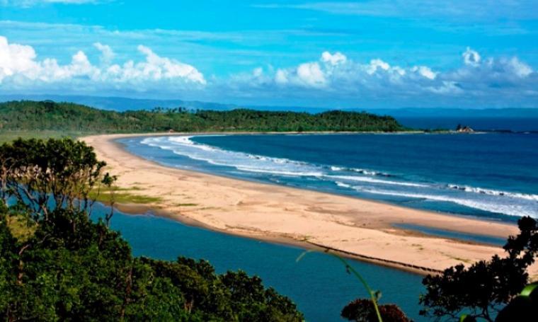 Pantai Sawarna. (Dok: net)