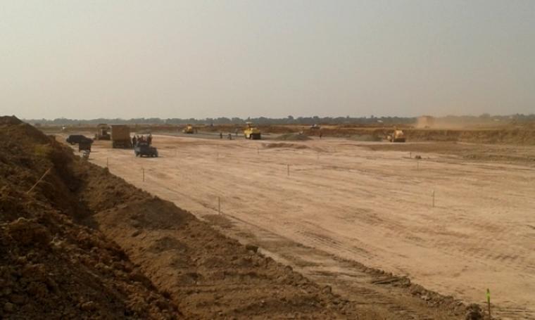Ilustrasi pembangunan bandara. (Dok: net)