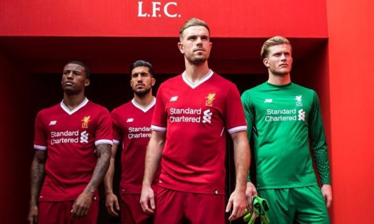 hot sale online d4536 b129a Liverpool Luncurkan Jersey Baru, Mirip Jersey Manchester United