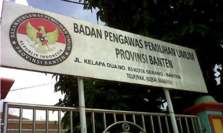 Kantor Bawaslu Banten. (Dok: net)