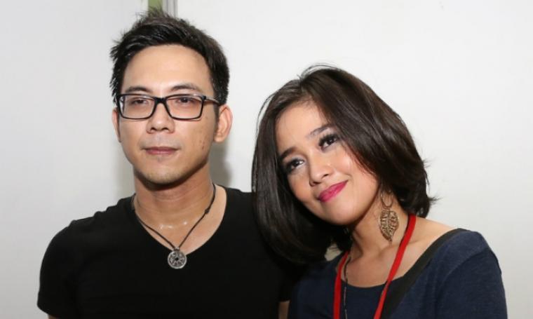 Pasangan artis, Gracia Indri dan David NOAH. (Dok: storibriti)