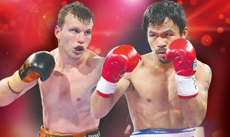 Jeff Horn vs Manny Pacquiao. (Dok: couriermail)