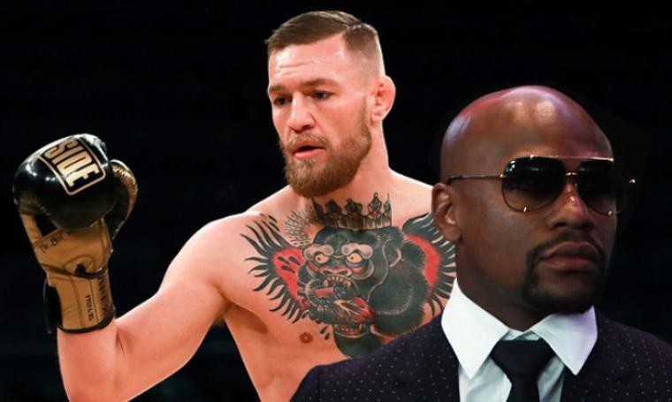 Floyd Mayweather Jr dan Conor McGregor. (Dok: uproxx)