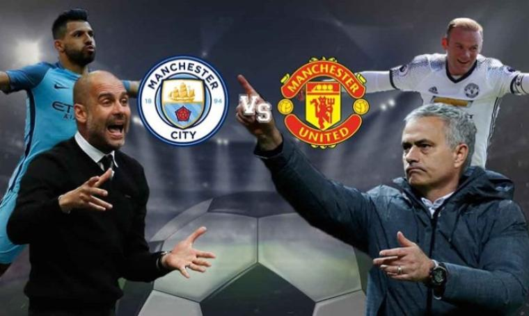 Manchester City vs Manchester United. (Dok: indianexpress)