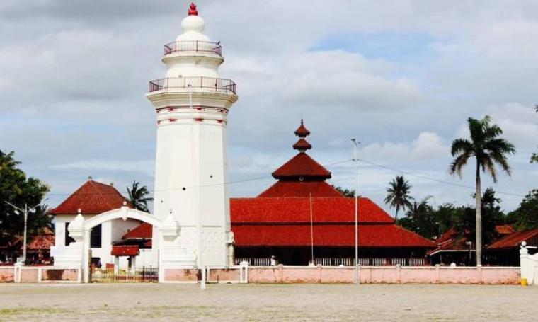 Masjid Agung Banten Lama. (Dok: topsy)