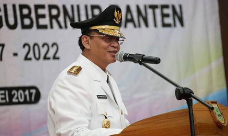 Gubernur Banten, Wahidin Halim. (Dok: sindonews)
