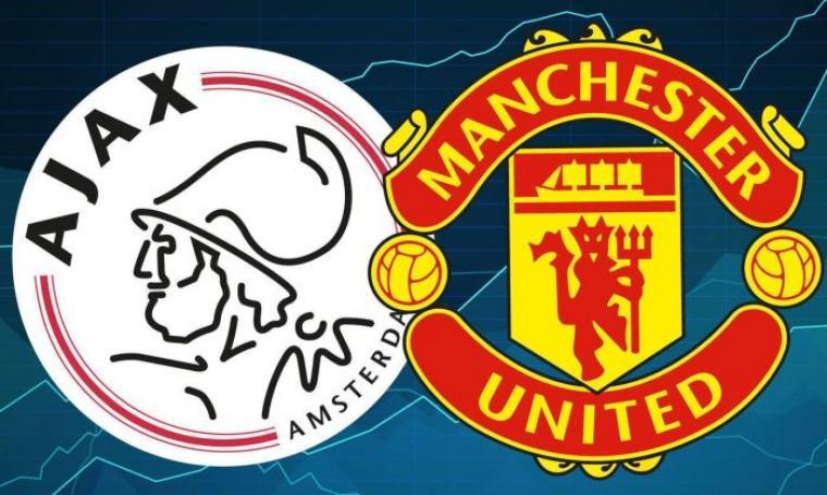 Ajax vs Manchester United. (Dok: 101greatgoals)