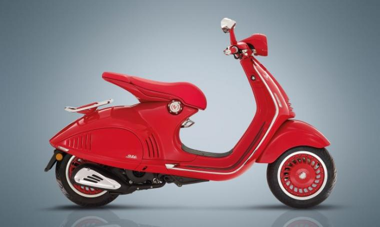 Vespa 946 Red. (Dok: totalmotorcycle)