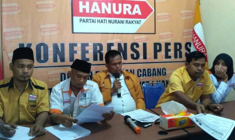 DPC Partai Hati Nurani (Hanura) Kota Serang, akan memulai proses penjaringan bakal calon wali kota dan wakil wali kota di Pilkada Kota Serang tahun 2018 mendatang. (Foto: TitikNOL)