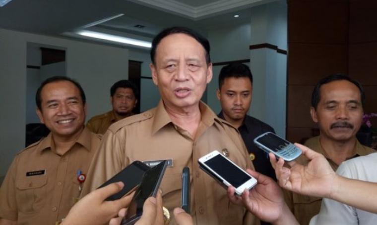 Gubernur Banten, Wahidin Halim. (Dok: radarbanten)