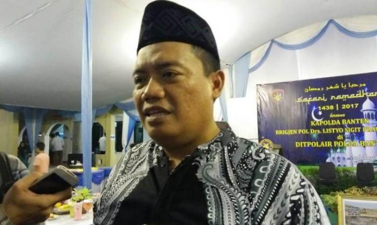 Dir Polair Polda Banten Kombes Pol Imam Thobroni saat memberikan keterangan kepada wartawan. (Foto: TitikNOL)