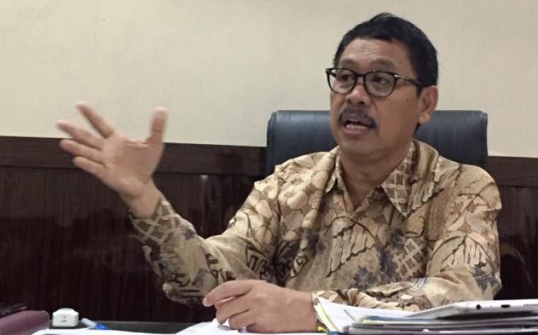 Sekretaris daerah (Sekda) Banten Ranta Soeharta. (Foto: TitikNOL)