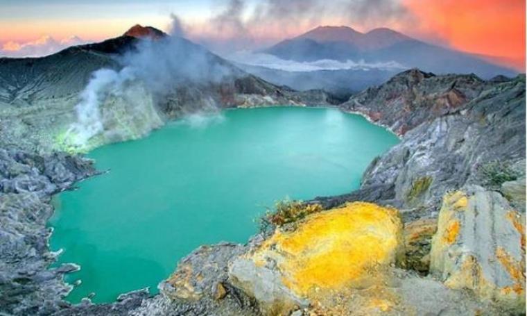 Objek wisata Kawah Ijen. (Dok: net)