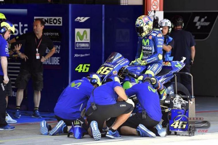 Pada Race MotoGP Belanda, Rossi Bakal Gunakan Sasis Anyar