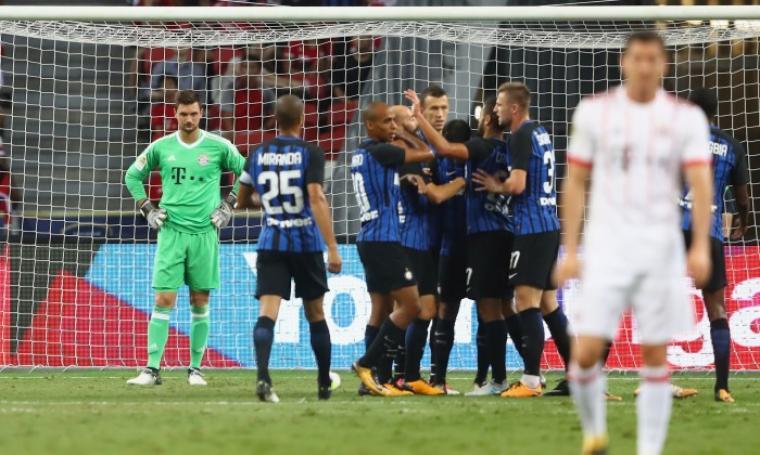 Dua gol Eder di setengah jam pembuka membawa pasukan Luciano Spalletti menang secara komprehensif atas kampiun Bundesliga. (Dok: goal)