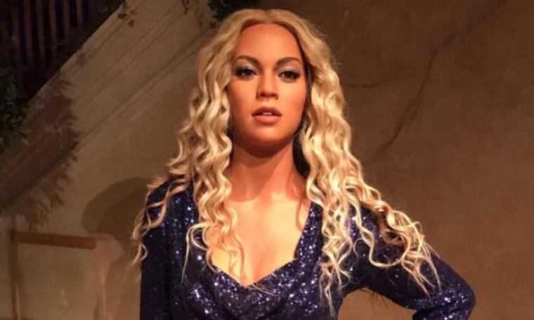 Patung lilin Beyonce. (Dok: hipwee)