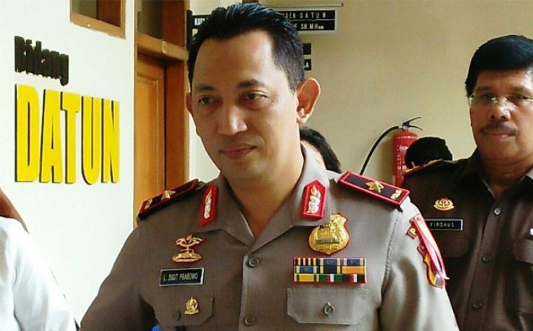 Kapolda Banten Brigjen Pol Listyo Sigit Prabowo. (Dok: net)