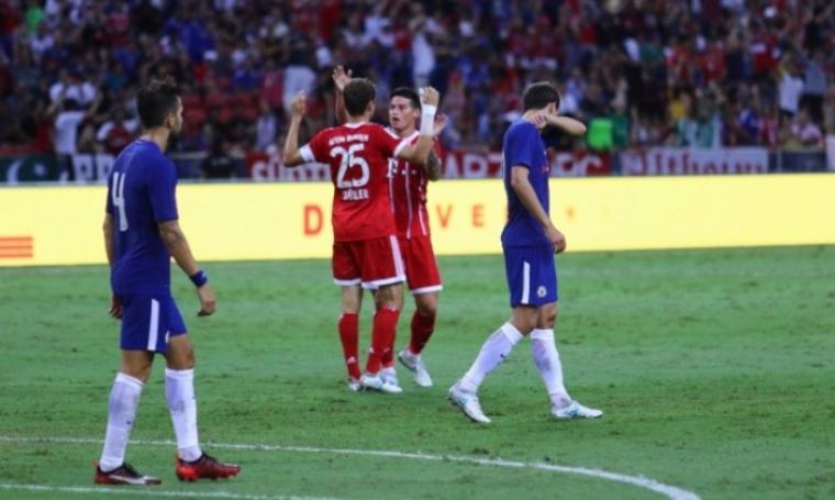 International Champions Cup, Chelsea vs Bayern Munchen. (Dok: mudanews)