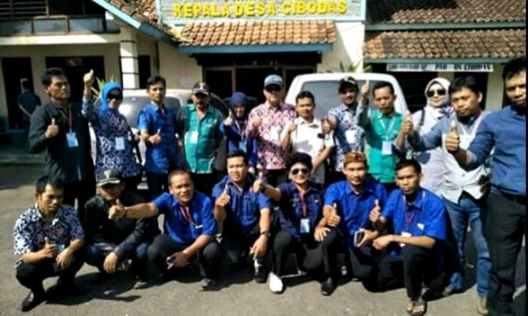 Sejumlah Kepala Desa (Kades) yang menjadi peserta studi banding. (Foto: FB)