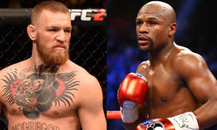 McGregor versus Mayweather. (Dok: foxsports)