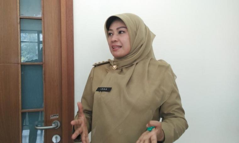 Bupati Pandeglang, Irna Narulita. (Dok: net)