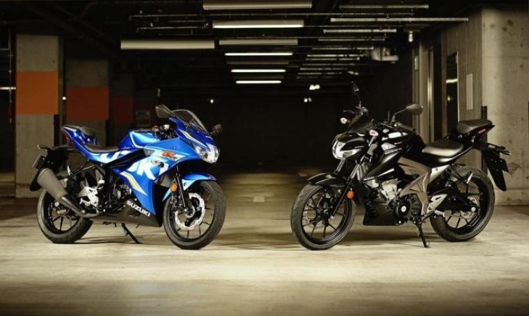 Suzuki GSX-R125 dan GSX-S125. (Dok: ridertua)