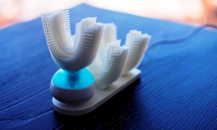 Amabrush, sikat gigi otomatis yang memudahkan orang menggosok gigi. (Dok: newatlas)