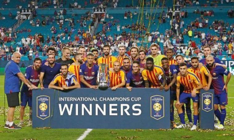 Barcelona menangkan turnamen International Championship Cup 2017. (Dok: sportskeeda)