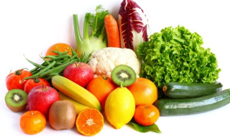 Ilustrasi bbuah dan sayuran. (Dok: net)