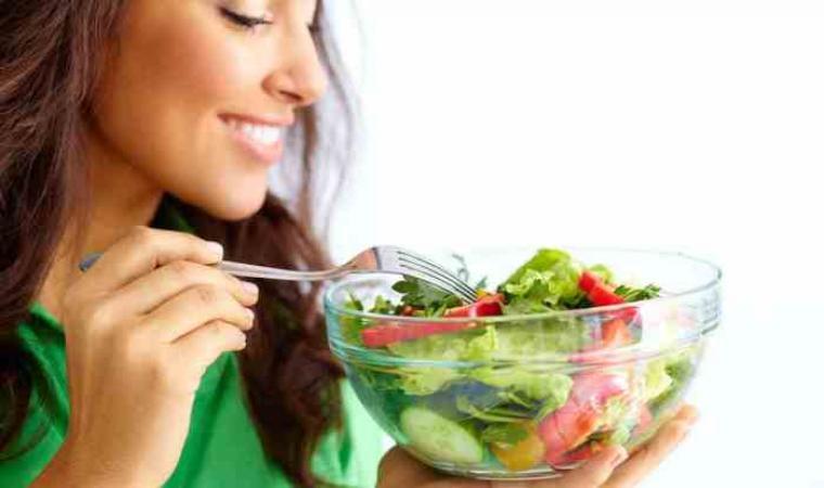 Ilustrasi konsumsi sayuran hijau. (Dok: net)