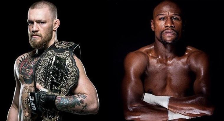 Conor McGregor vs Floyd Mayweather. (Dok: bjpenn)