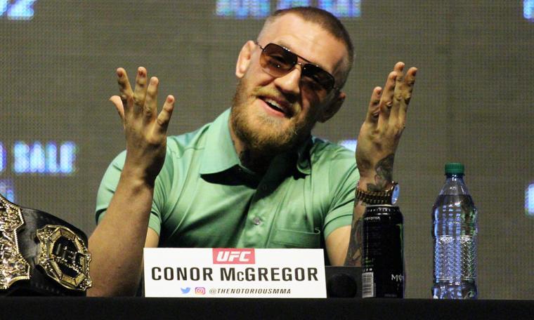 Conor McGregor. (Dok: mmajunkie)