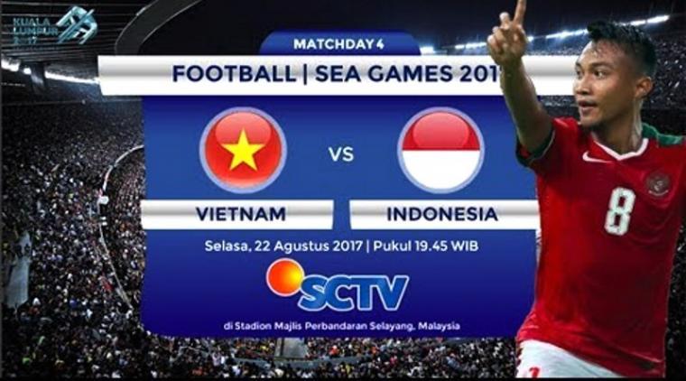 Vietnam vs Indonesia. (Dok: eddiekidiw)