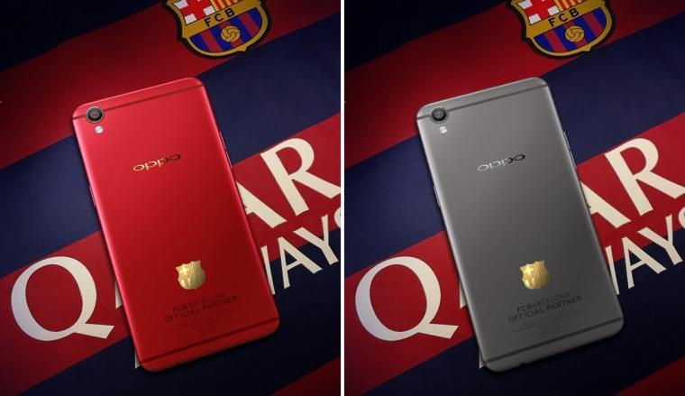 Oppo F3 FCB. (Dok: mxphone)