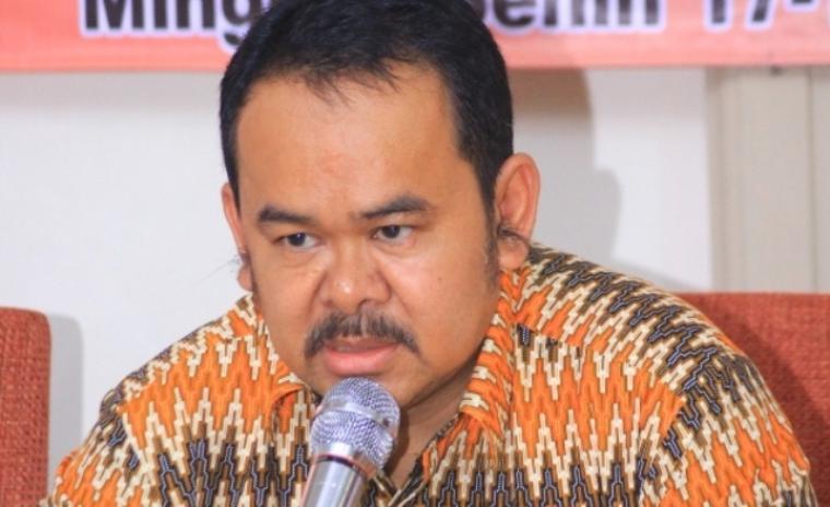 Ketua Dewan Pertimbangan Dewan Pimpinan Daerah (DPD) II Partai Golkar Kota Serang Tb Haerul Jaman. (Dok: hastagnews)